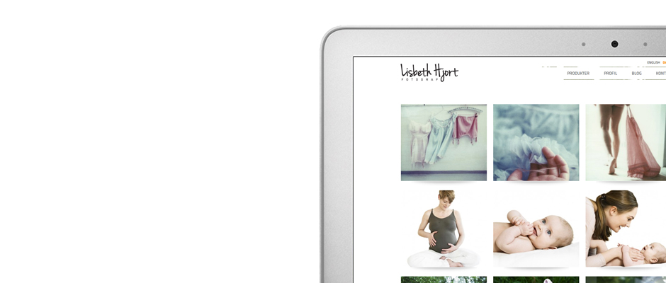 Lisbeth Hjort WordPress website